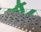 Original, 3D Origami 1/32 easy folding paper cutting die!  NEW MP007