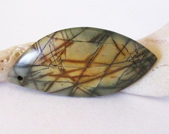 Picasso Jasper Drilled Cabochon 37.30cts