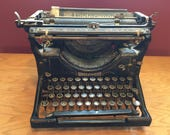 Reserved  1928 #3 UNDERWOOD TYPEWRITER