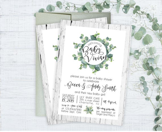 Baby shower invitations floral garden baby shower invitations il570xn filmwisefo