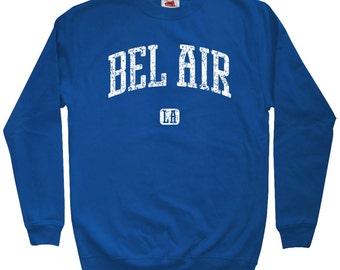 Bel Air Los Angeles Sweatshirt - Men S M L XL 2x 3x - Crewneck, Gift For Men, Gift for Her, Bel Air Sweatshirt, California, LA, Sunset Blvd