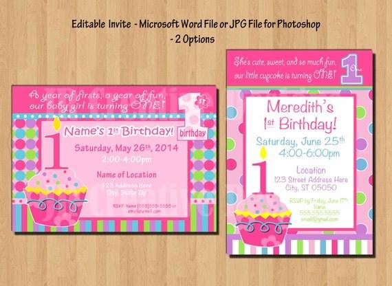Cupcake Birthday Party Cupcake Birthday Banner Cupcake
