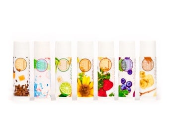 Mini Lip Balms - All Natural - Choose Your Flavor