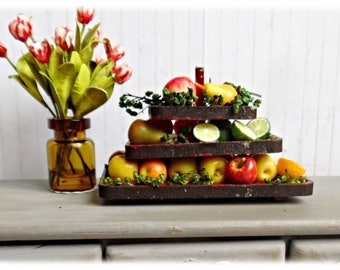 Three Tier Fruit Display
