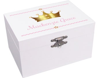 Personalized Ballerina Princess Jewelry Box for Little Baby Girl Custom Musical Jewelry Boxes Ballet Box First Jewelry Box Boxes JEWEA-333