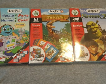3 leappad learning games