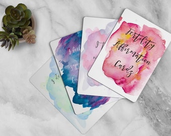 Fertility Affirmation Cards