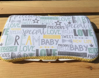 Baby Wipes Case, Wipes Case, Travel Wipes Case, Large Wipes Case, Baby Shower Gift