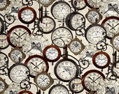 Kanvas Studio - Railways Express by Maria Kalinowski - Station Clocks - Cream