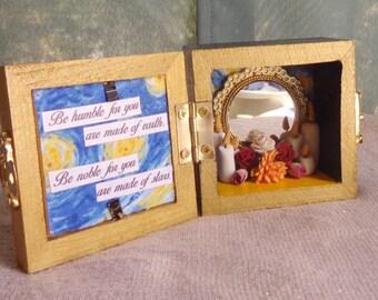 Divine Self Box Shrine. Miniature Nicho.  Travel Altar. Higher Self.