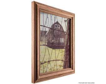 Craig Frames, 20x32 Inch Mission Oak Picture Frame, Wiltshire 440 (4401382032)