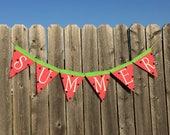 SUMMER BANNER, Watermelon Decor, Hello Summer, Summer Garland, Summer Decor, Summer Decorations, Summertime, Summer Signs