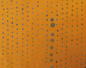 PRESALE - Chroma Handcrafted - Pinpoint in Gold - Alison Glass for Andover - AB-8131-Y - 1/2 yd