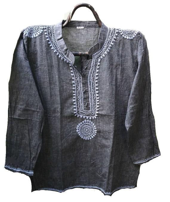 Indian Khadi Cotton Hippie Clothes Homespun Fabric Gypsy