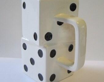 Vintage Dice Coffee Mug