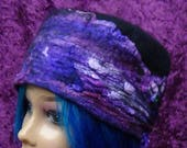 Easter Special Felted hat, Cute,pillbox, hat, hand made, in USA, Organic, Fairy hat, wearable art, costume art, fantasy hat, whimsical hat,b