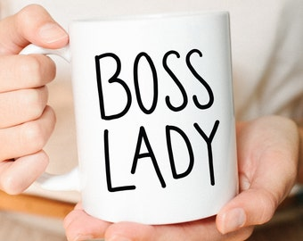 Boss lady, Boss Lady Mug, Gift for Her, Best Friend Gift, New Job Gift, Promotion Gift, Girl Boss, Birthday Gift, Coffee Mug, Cute mug