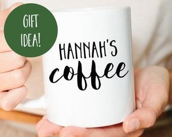 Personalized Mug, Custom Mug, Coffee Mug, Personalized Gift, Gift for her, Gift for him, Mug, Coworker Gift, Customized Gift, Cute Mug