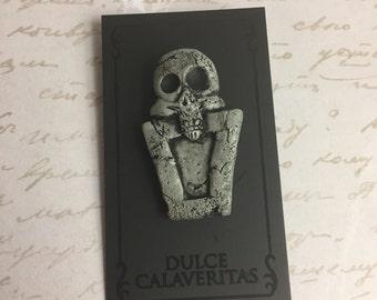 Nightmare before christmas tombstone graveyard pin