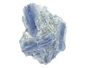 Blue Kyanite Crystal Crossed Blades in Mica Rock Matrix, Mineral Specimen Mined in the gem fields of Brazil, Wear it or Display it
