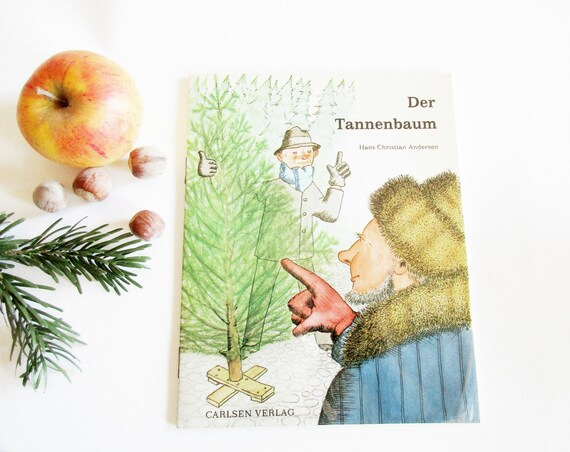 Lovely German Vintage Childrens Christmas Story Booklet