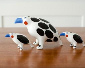 Vintage Rare Villeroy & Boch Bird Animal Park Collection Modern Figurine Ceramic Porcelain Figures