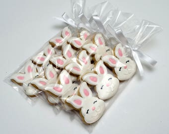 Decorated Cookies - Easter - Rabbits - Easter Bunnies - Favors