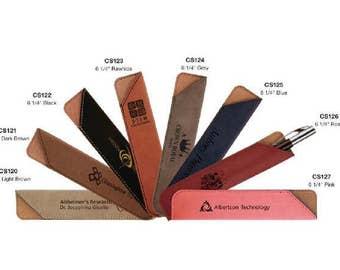 Leatherette Pen Sleeve