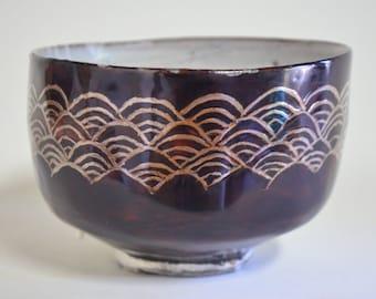 Kintsugi bowl 6006C, gintsugi, kintsugi, silver