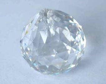 1 SWAROVSKI 8558 Strass Crystal Ball Prism 20mm CLEAR