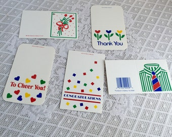 Vintage Variety Gift Tags / Gift Tag for Father's Day / Congratulations Tag for Graduation / Thank You Gift Label / To Cheer You Label