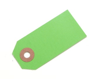 Green Parcel Gift Tags