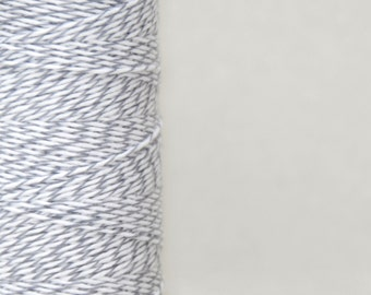 Oyster Grey Cotton Bakers Twine