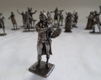 David Vintage French Hand made Lead Figurine French Revolution v791