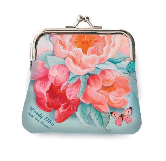 Coin purse, retro purse, Idda van Munster, gifts for her, gift for mom, Woody Ellen handbag, christmas gift, valentine gift ideas, birthday