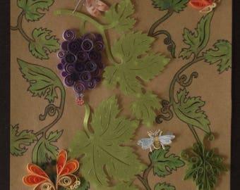 Grape Vine Collage
