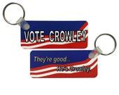 Supernatural Keychain: Vote Crowley