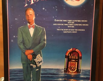 Movie poster, Crazy Moon with Kiefer Sutherland.