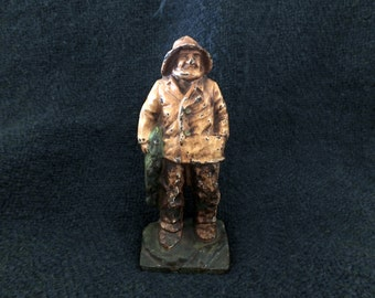 Old Salt Fisherman Figurine or Door Stop