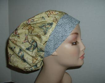 Butterfly  Bouffant OR Tech Scrub Hat CNOR CRNA