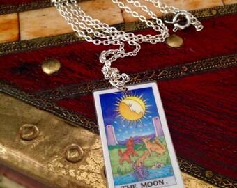The Moon Tarot Necklace