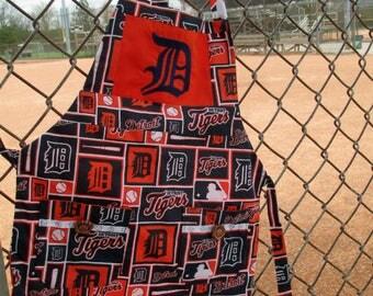 Detroit Tigers Baseball Preschool Apron by Cover Me Aprons