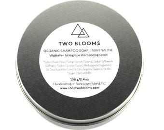 Organic Shampoo Soap, Mint Soap, Travel Soap, Camping Soap, Natural Soap Victoria BC Vancouver Island Canada