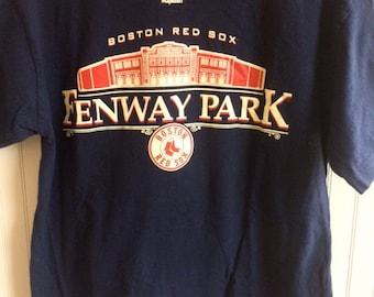 Fenway park t shirt vintage size Medium
