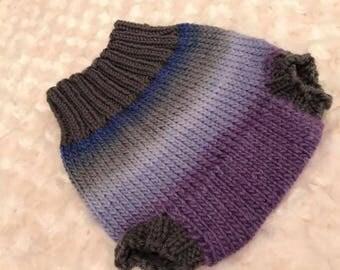 Violet Gradient Soaker