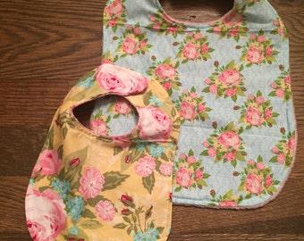 Floral Bib Set