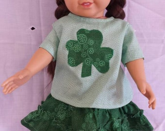 18 inch Irish lassie doll outfit 3 peice set