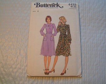 Vintage Butterick Pattern 4433 Miss Dress