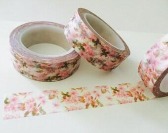 Spring Cherry Blossom Washi Tape
