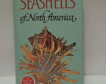 Vintage 1968 Hardcover A Guide To Field Identification Seashells of North America Book